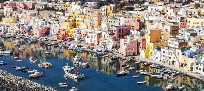 Pročidos sala. Neapolis. Italija